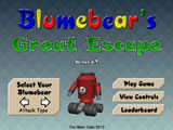 Blumebear's Great Escape Title Screen
