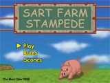 Sart Farm Stampede Title Screen