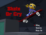 Skate Or Cry Title Screen